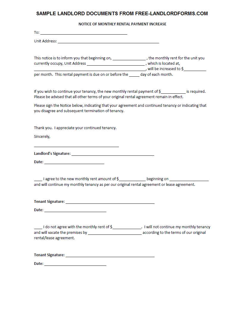 template 60 day notice letter to landlord template preview the of